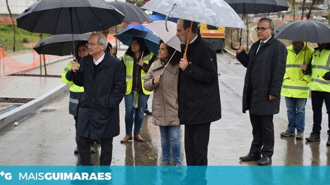 NOVO ACESSO À UNIVERSIDADE DO MINHO É PARA INAUGURAR A 24 DE JUNHO