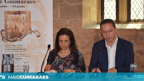 I FESTIVAL DE CANTO LÍRICO ARRANCA ESTA QUINTA-FEIRA EM GUIMARÃES