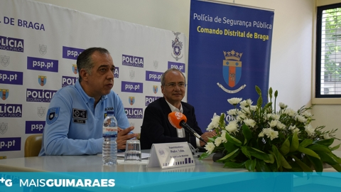 141.º ANIVERSÁRIO DO COMANDO DISTRITAL DA PSP COMEMORADO EM GUIMARÃES
