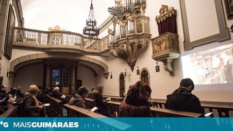 """PAOLO BOUGEAT É O PRÓXIMO A """"EXPERIMENTAR"""" O ÓRGÃO VIMARANENSE"""