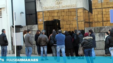 DESEMPREGO DESCE PARA OS 8,1% EM GUIMARÃES