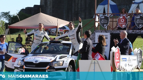 CASTELO DE GUIMARÃES FOI O PALCO DO ARRANQUE DO RALLY DE PORTUGAL