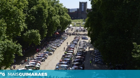 PARTIDA OFICIAL DO RALLY DE PORTUGAL EM GUIMARÃES