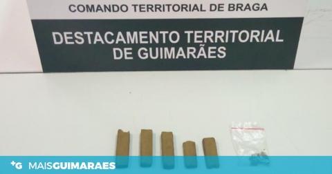 GNR DETEVE HOMEM POR TRÁFICO DE ESTUPEFACIENTES