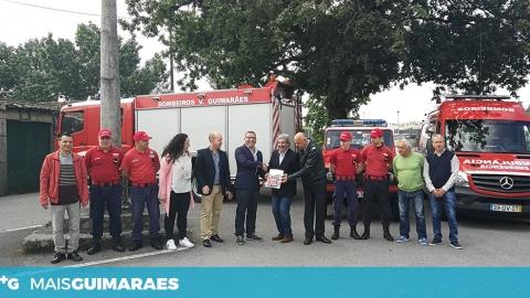 JUNTA DE SILVARES ASSINA PROTOCOLO COM OS BOMBEIROS VOLUNTÁRIOS DE GUIMARÃES