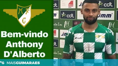 D'ALBERTO TRANSFERIDO PARA O MOREIRENSE FC