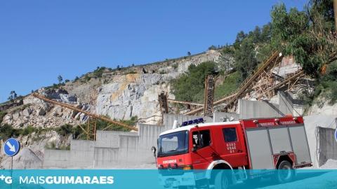 MORREU O CONDUTOR DO CAMIÃO QUE CAIU DE UMA PEDREIRA