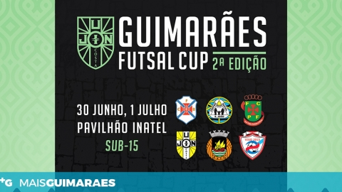 TORNEIO CIDADE DE GUIMARÃES EM FUTSAL SUB-15 DECORRE ESTE FIM DE SEMANA