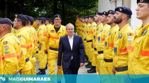 GUIMARÃES ACOLHE FORÇA ESPECIAL DE BOMBEIROS