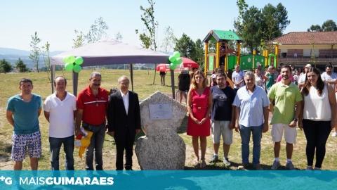 INAUGURAÇÃO DO PARQUE DE LAZER DA FONTE EM SANTA CRISTINA DE LONGOS