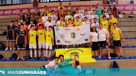 PIRATAS PARTICIPARAM NO III TORNEIO MADEIRA FUTSAL CUP