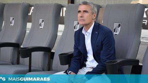 LUÍS CASTRO ABORDA EMPATE FRENTE AO DESPORTIVO DAS AVES