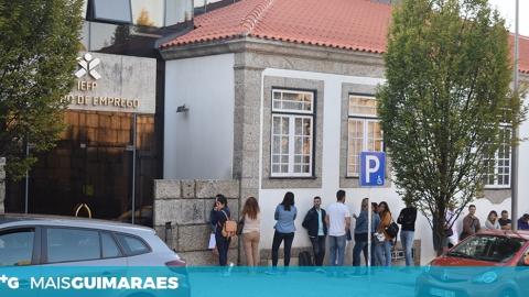 TAXA DE DESEMPREGO EM GUIMARÃES DESCEU DE 7,2 PARA 6,6%