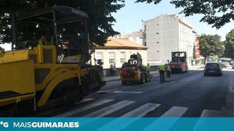 OBRAS NA AV. D. JOÃO IV CONDICIONAM O TRÂNSITO