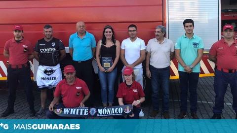 WHITE ANGELS DO MÓNACO RECOLHERAM DONATIVOS PARA OS BOMBEIROS DO CONCELHO