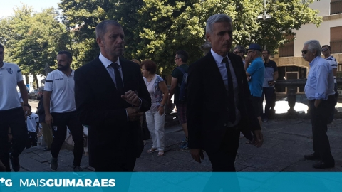 JÚLIO MENDES ASSEGURA CONTINUIDADE DE LUÍS CASTRO