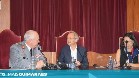 """DOMINGOS BRAGANÇA: """"É UMA HONRA E UM ORGULHO TERMOS O EXÉRCITO AQUI"""""""