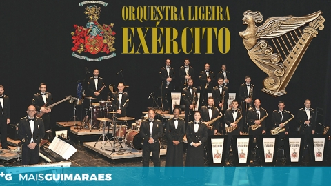 GUIMARÃES RECEBE CONCERTO DE ORQUESTRA LIGEIRA DO EXÉRCITO NO LARGO DO TOURAL