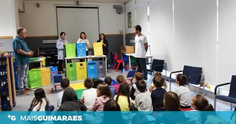 ESCOLA ALTO DA BANDEIRA RECEBEU O ARRANQUE DA CAMPANHA DE RECOLHA SELETIVA