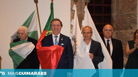 ROTARY CLUB DE GUIMARÃES HOMENAGEOU MECENAS