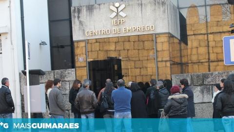 HÁ MAIS 306 INSCRITOS NO IEFP DE GUIMARÃES