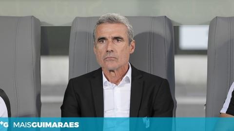 """LUÍS CASTRO: """"FICÁMOS AQUÉM DO OBJETIVO DO JOGO"""""""
