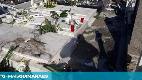CEMITÉRIO DE URGEZES FOI VANDALIZADO NA MANHÃ DESTA SEXTA-FEIRA