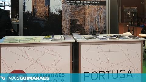 GUIMARÃES PROMOVEU PRODUTOS TURÍSTICOS EM FEIRA INTERNACIONAL