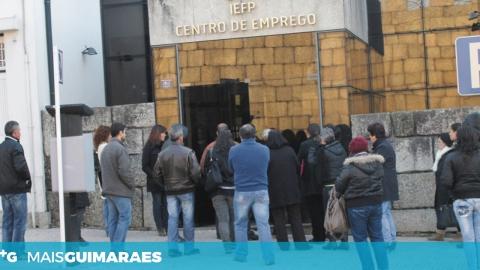 HÁ MENOS 101 INSCRITOS NO CENTRO DE EMPREGO DE GUIMARÃES