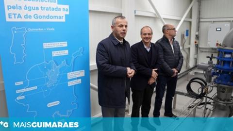 SISTEMA DE TRATAMENTO ULTRAVIOLETA DA VIMÁGUA APRESENTADO NA ETA DE GONDOMAR