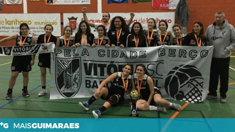 SUB-16 DO VITÓRIA SÃO CAMPEÃS REGIONAIS DE BASQUETEBOL