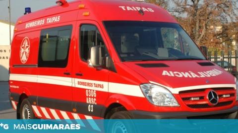 BOMBEIROS TAIPENSES COMBATEM INCÊNDIO EM BRAGA