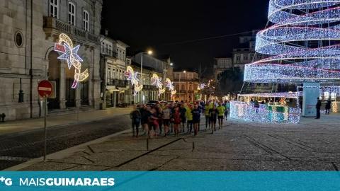 GUIMARÃES CORRE CORRE ARRECADOU QUASE 100 LATAS DE LEITE EM PÓ PARA A CASA DA CRIANÇA
