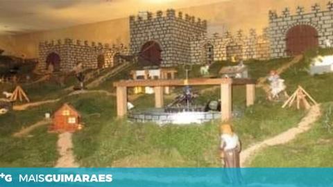 PRESÉPIO MOVIMENTADO DE INFANTAS JÁ PODE SER VISITADO