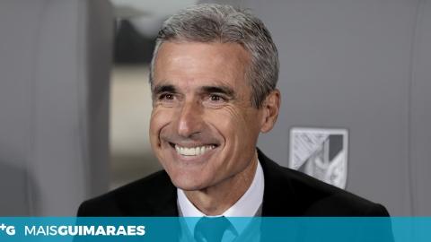 """LUÍS CASTRO: """"OLHAMOS SEMPRE PARA CIMA NO CAMPEONATO"""""""