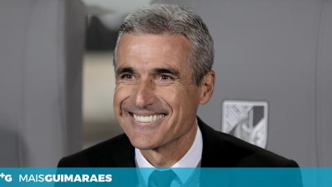 """LUÍS CASTRO: """"A FORMA COMO CONQUISTAMOS ESTA VITÓRIA FOI MUITO IMPORTANTE"""""""