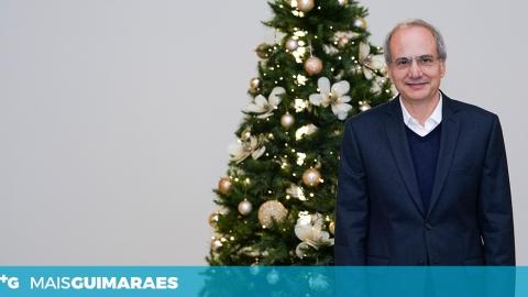 CONHEÇA A MENSAGEM DE NATAL DE DOMINGOS BRAGANÇA PARA OS VIMARANENSES