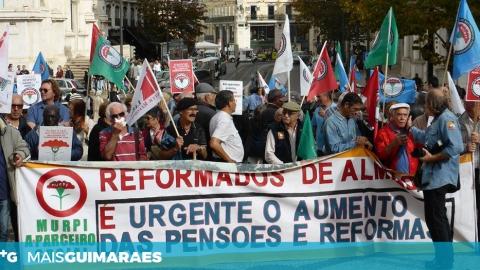 REFORMADOS E PENSIONISTAS APONTAM FALHAS EM GUIMARÃES