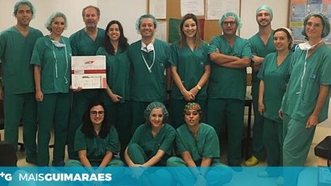 HOSPITAL DE GUIMARÃES REALIZOU PRIMEIRO IMPLANTE DE ENDOPRÓTESE EXPANSÍVEL POR BALÃO