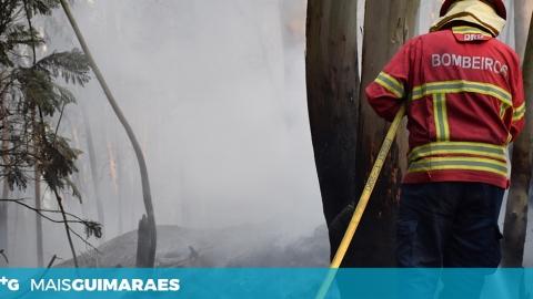 GUIMARÃES TEM 13 FREGUESIAS COM RISCO MUITO ELEVADO DE INCÊNDIO EM 2019