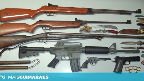 JOVEM DE LORDELO DETIDO NA POSSE DE 22 ARMAS