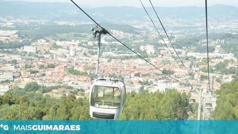 TELEFÉRICO DE GUIMARÃES ENCERRA PARA MANUTENÇÃO