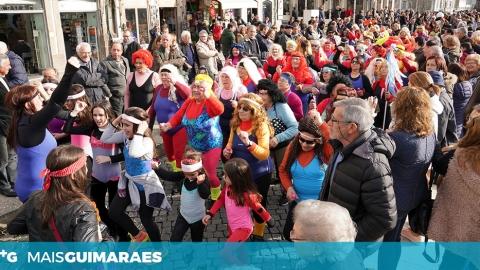 CARNAVAL INTERGERACIONAL DE GUIMARÃES COM A PARTICIPAÇÃO DE MAIS DE UM MILHAR DE CRIANÇAS E IDOSOS