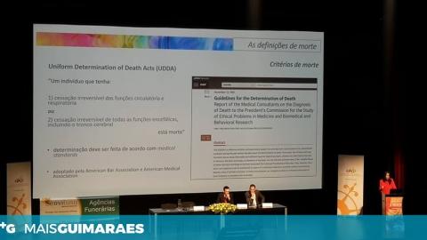 """1.º CONGRESSO INTERNACIONAL """"A MORTE"""" JÁ ARRANCOU E PROLONGA-SE ATÉ DOMINGO"""