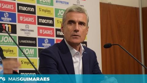 """LUÍS CASTRO: """"FALTOU FAZER UMA SEGUNDA PARTE IGUAL À PRIMEIRA"""""""