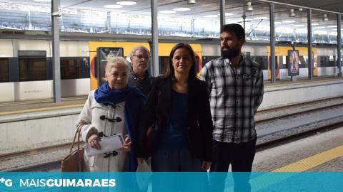 PCP DEFENDE LIGAÇÃO FERROVIÁRIA DIRETA ENTRE GUIMARÃES E BRAGA