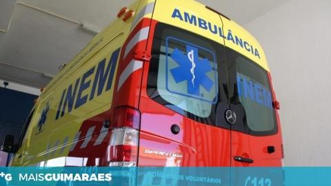 JOVEM ATROPELADA EM TABUADELO TRANSPORTADA PARA O HOSPITAL SÃO JOÃO