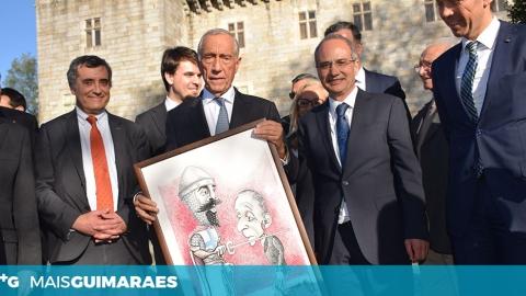 MARCELO REBELO DE SOUSA GARANTE REGRESSO A GUIMARÃES PARA O 24 DE JUNHO DE 2020