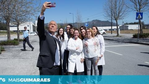 MARCELO REBELO DE SOUSA TECEU ELOGIOS AO GRUPO 3B'S E À FARFETCH
