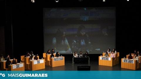 CINCO ESCOLAS DE GUIMARÃES PARTICIPAM NO PARLAMENTO JOVEM EUROPEU
